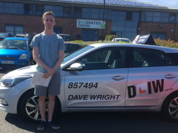 Mike Driving Lessons Isle of Wight Pass